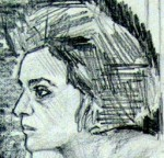 Kate in Wandsworth, Life Study, detail